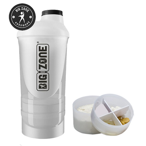 Big Zone 2 Kammer Shaker (600ml)