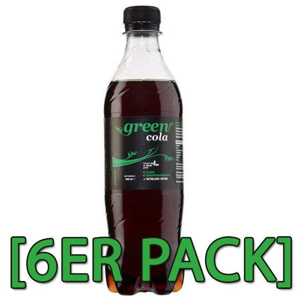 Green Cola (6x500ml) inkl. 1.50€ Pfand