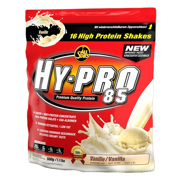 All Stars HY-PRO 85 (500g) Raspberry Yoghurt