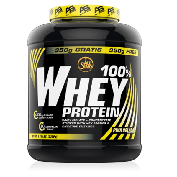 All Stars 100% Whey (2350g Dose) Chocolate
