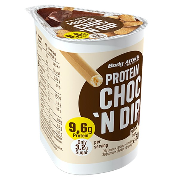 Body Attack Choc N Dip (115g)