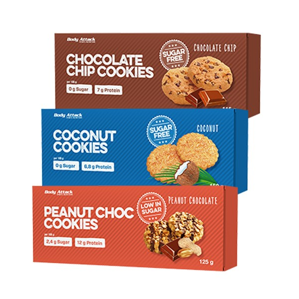 Body Attack Cookies (115g)