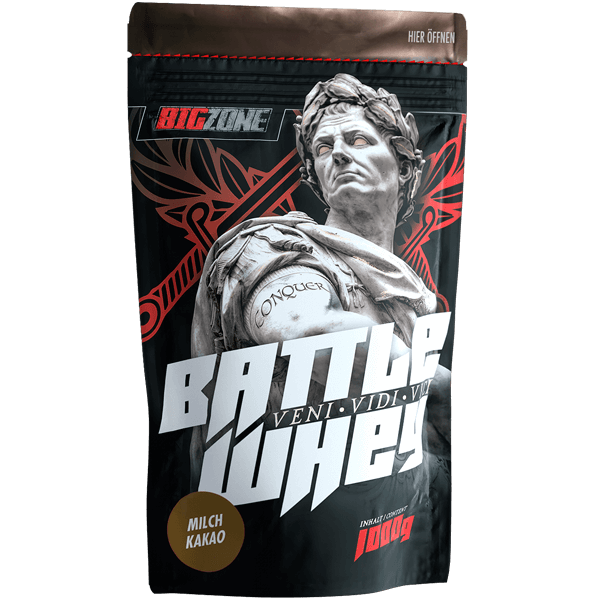 Big Zone Battle Whey - 1000g Milch Kakao