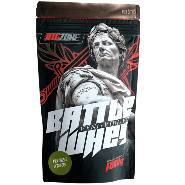 Big Zone Battle Whey - 1000g Pistazie Kokos