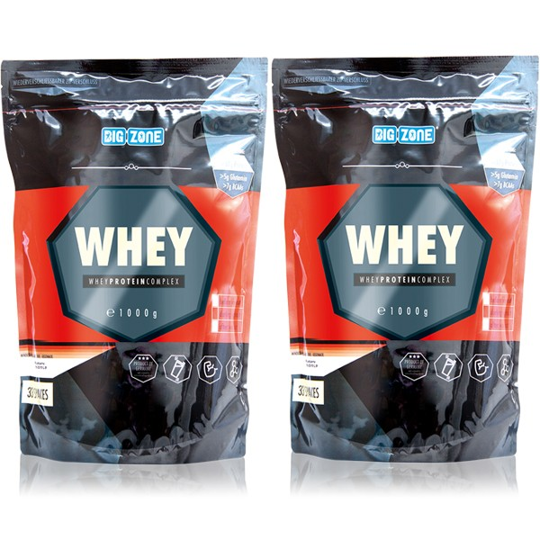 Big Zone Whey - 2x 1000g