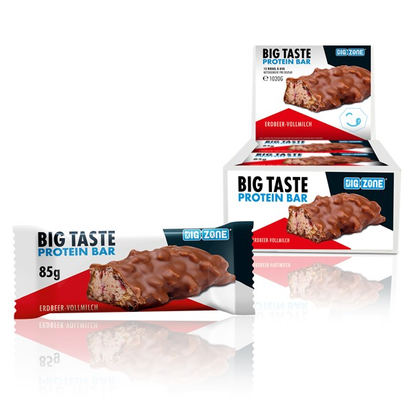 Big Zone Big Taste Protein Bar (12x85g Riegel Karton)