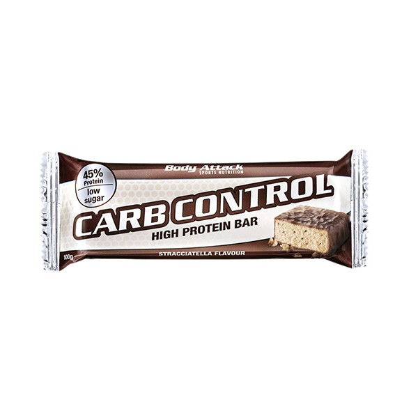 Body Attack Carb Control Proteinriegel (100g Riegel)