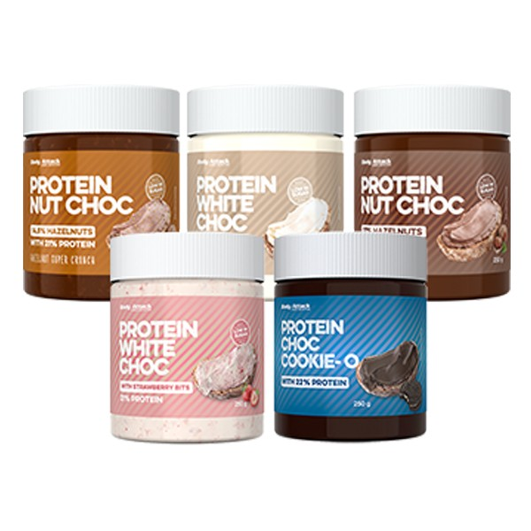 Body Attack -  Protein Choc (250g) Hazelnut Super Crunch