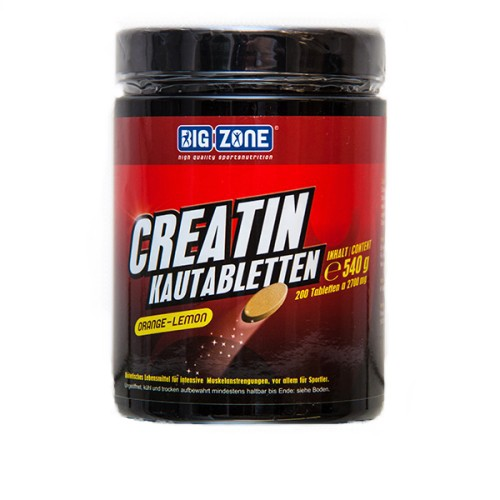 Big Zone Creatin Kautabletten (200 Tabletten)