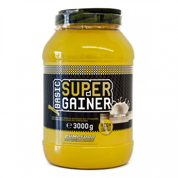 Pumpfood Basic Super Gainer 8000 (3000g)
