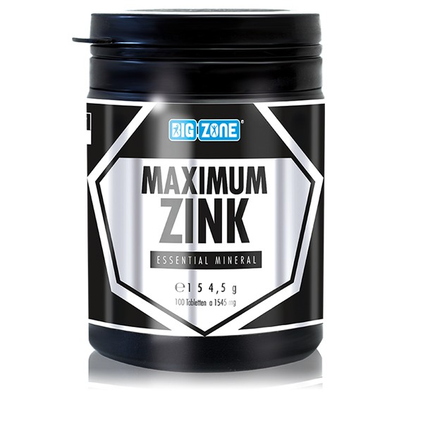 Big Zone Maximum Zink (100 Tabletten)