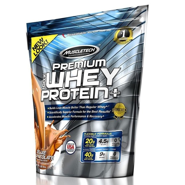 Muscletech Premium Whey Protein+ (2720g) Deluxe Chocolate