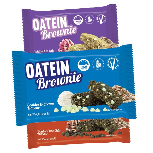 Oatein Brownie (1x60g Cookie)