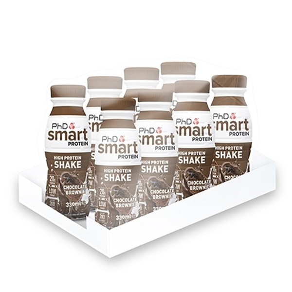 PhD Smart High Protein Shake (8x330ml) Salted Caramel