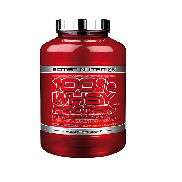 Scitec Nutrition 100% Whey Protein Professional (2350g) 2350g / Strawberry White Chocolate