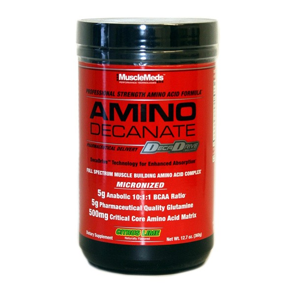 MuscleMeds AMINO Decanate (360g)