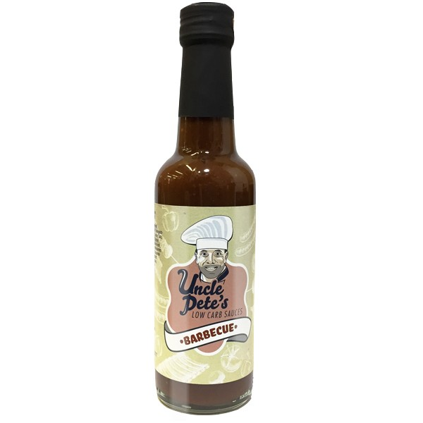 Uncle Petes Low Carb Sauce BBQ (240ml)