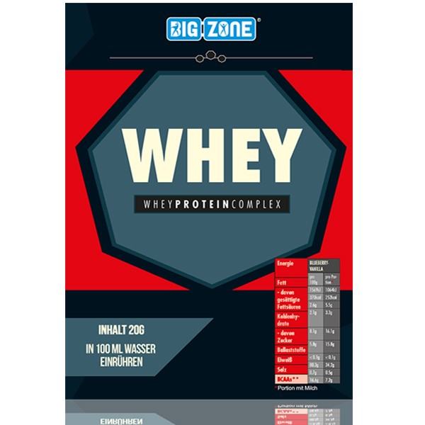 Big Zone Whey - 20g Probe