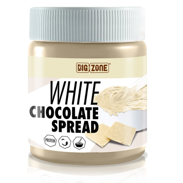Big Zone - White Chocolate Spread (250g)