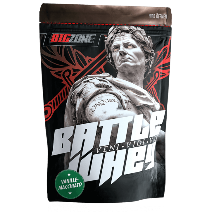 Big Zone Battle Whey Minis - 200g Vanilla Macchiato