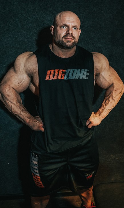 Big Zone Cut Off Shirt
