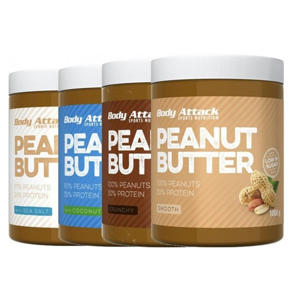 Body Attack Peanut Butter - 900g