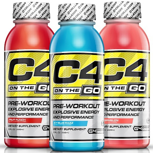 Cellucor C4 on the go (295ml) Fruit Punch