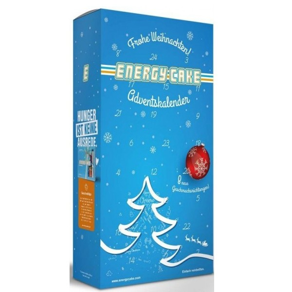 Energy Cake Adventskalender (25x125g)