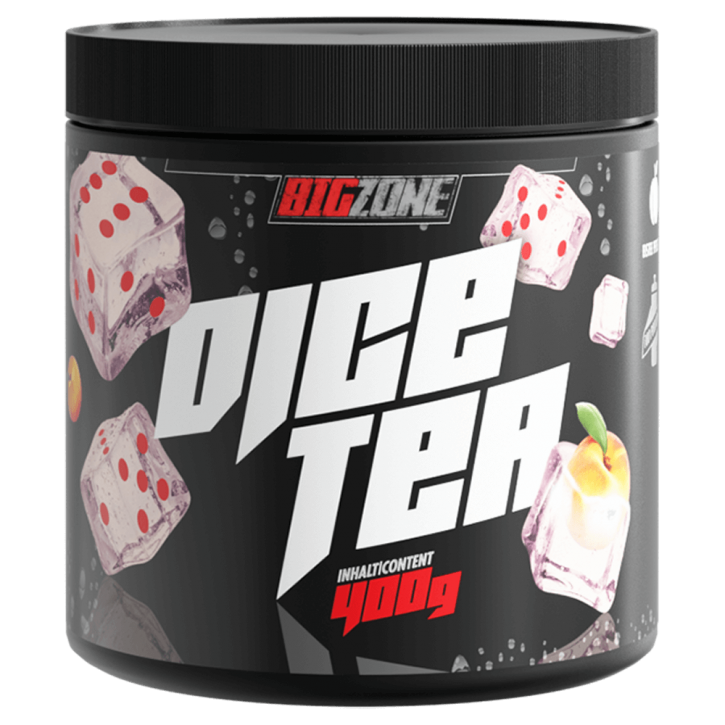 Big Zone Dice Tea (400g) Eistee Pfirsich