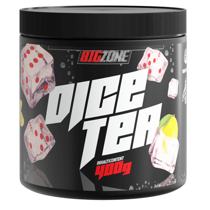 Big Zone Dice Tea (400g) Eistee Zitrone