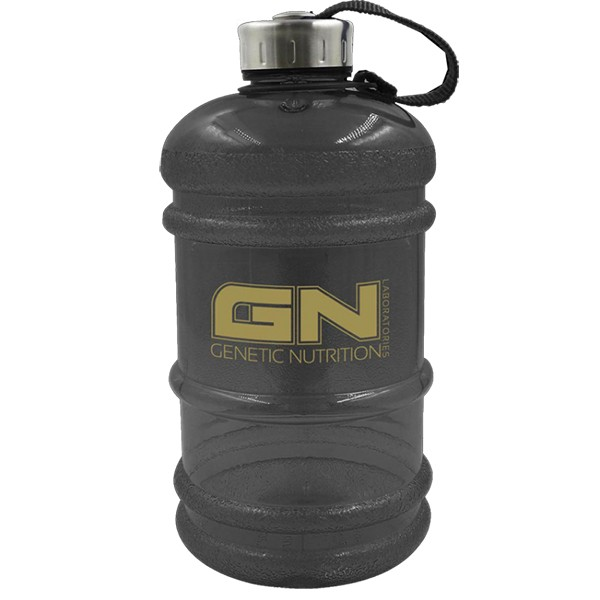 GN Waterbottle (Gallonen Look) (2,2 Liter) Schwarz