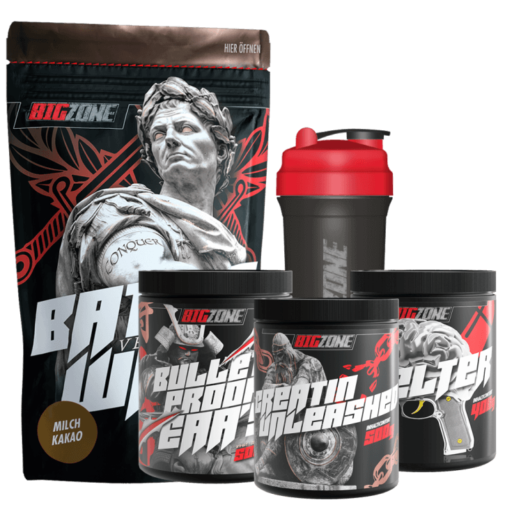 Big Zone Gym Starter Kit Kirsche / Milchreis Zimt