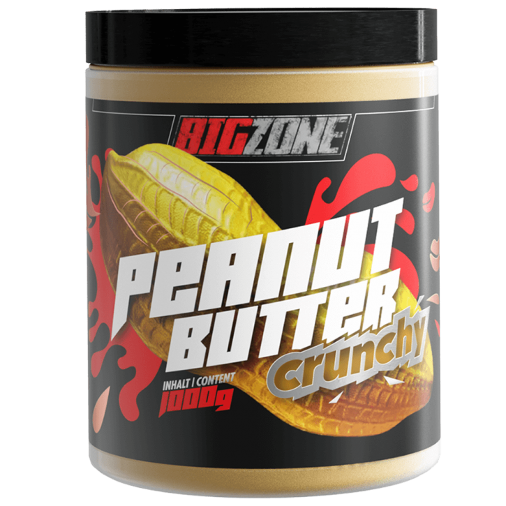 Big Zone Peanut Butter (1000g) Crunchy