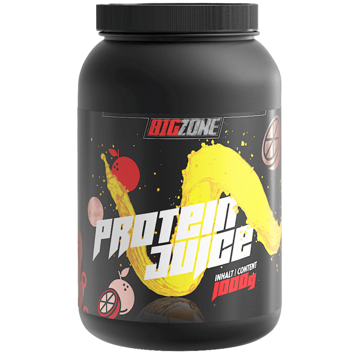 Big Zone Protein Juice - 1000g Orangensaft
