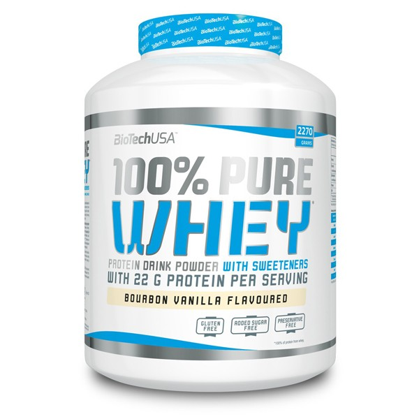 BioTech USA 100% Pure Whey (2270g Dose) Strawberry