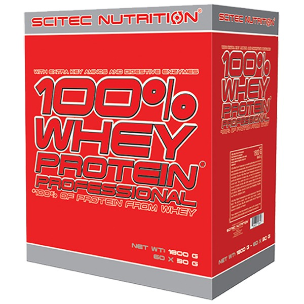 Scitec Nutrition 100% Whey Protein Professional (60x30g) 1800g