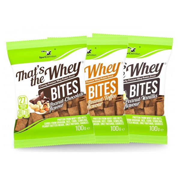 Sport Definition - That's the Whey Bites (100g)